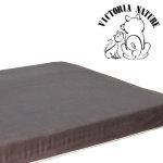 寵物床墊Petpad-印象咖啡色麂皮台灣製 (M)款 80CM x 55CM x 8CM 可拆洗