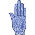 手掌-橡膠刺青模板10