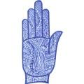 手掌-橡膠刺青模板1