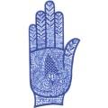 手掌-橡膠刺青模板-小1
