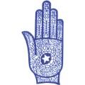 手掌-橡膠刺青模板7