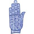 手掌-橡膠刺青模板-小2