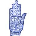手掌-橡膠刺青模板6