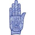 手掌-橡膠刺青模板-小3