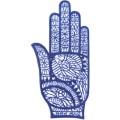 手掌-橡膠刺青模板-小4