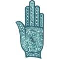 手掌-橡膠刺青模板17