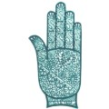 手掌-橡膠刺青模板-小9