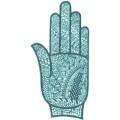 手掌-橡膠刺青模板-小10