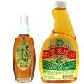 黑灰蚊香茅油 500cc/瓶(付噴頭) + 100ML x 6瓶 天然 SGS檢驗 苗栗銅鑼鄉農會輔導