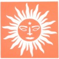手臂-刺青模板-太陽