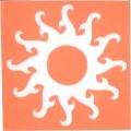 身體-刺青模板-太陽小