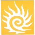 身體-刺青模板-太陽